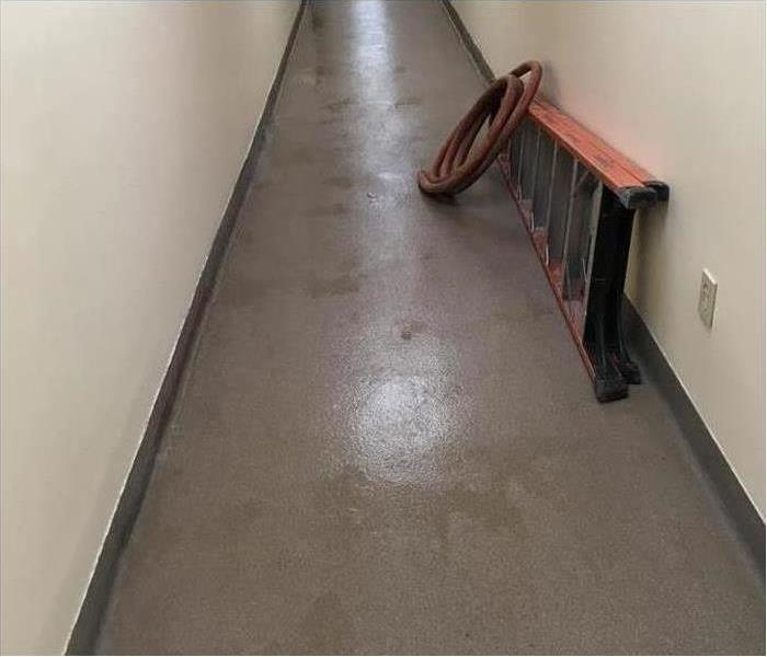 Commercial Water Damage – Seminole Office Building After