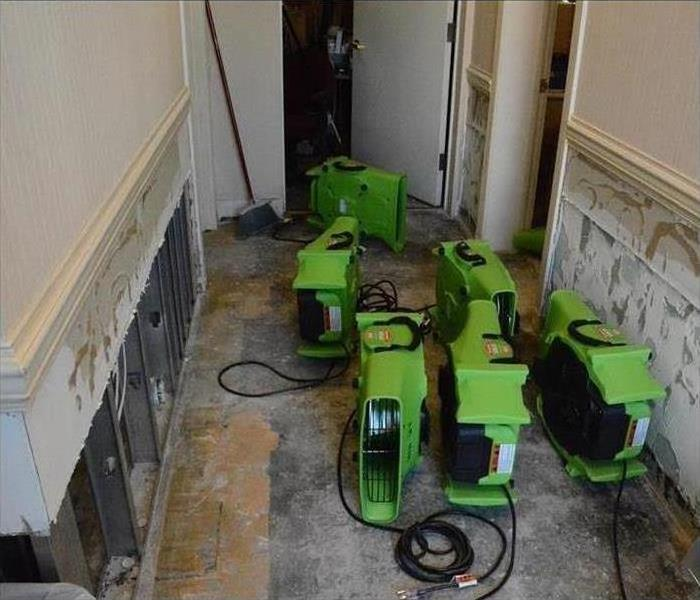 Commercial Water Damage – Seminole Office Building Before