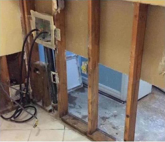 Mold Damage – Seminole Laundry Room After