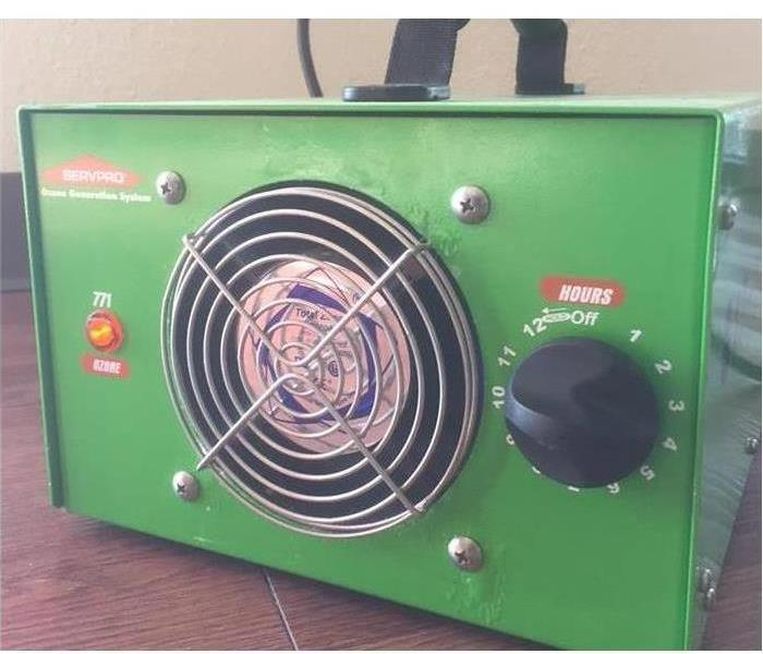 ozone machine green front