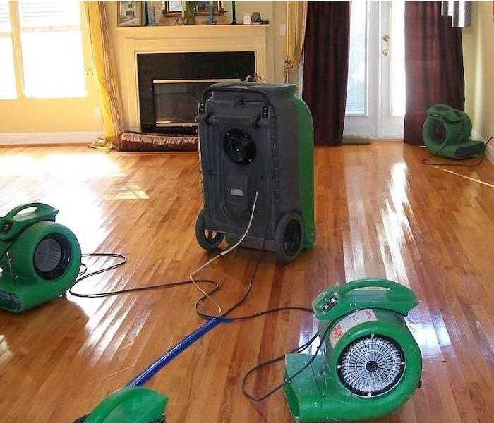 Storm Damage SERVPRO Helps with Flood Damage to Flooring in Redington Beach
